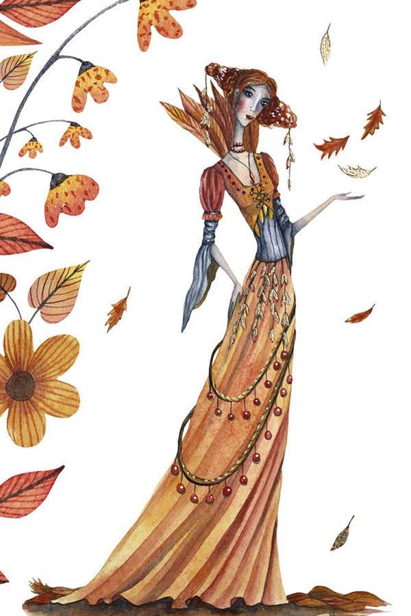 Arrival of autumn