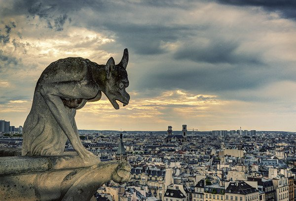 Gargulec z Notre Dame