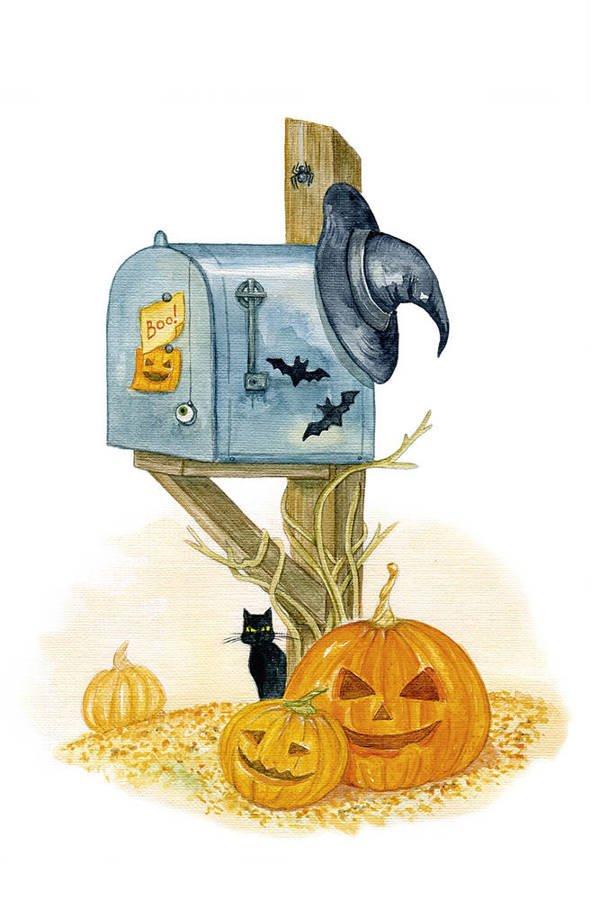 Poczta halloweenowa